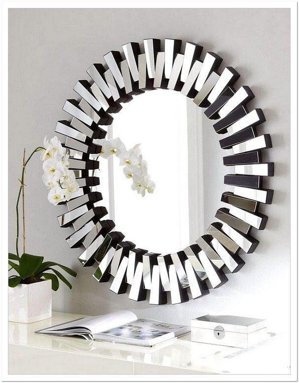 Nicole Miller Wall Mirror : nicole, miller, mirror, Nicole, Miller, Decor, Amusing, Mirrors, Design, Mirror, Wall,, Silver, Mirror,, Antique