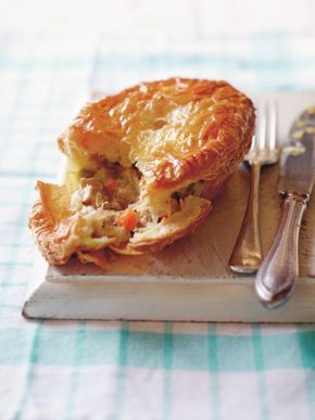 Matt Preston recipe - MasterChef judge Matt Preston shared a recipe from his book; Fast, Fresh and Unbelievably Delicious - Chicken, Leek and Thyme Pies!