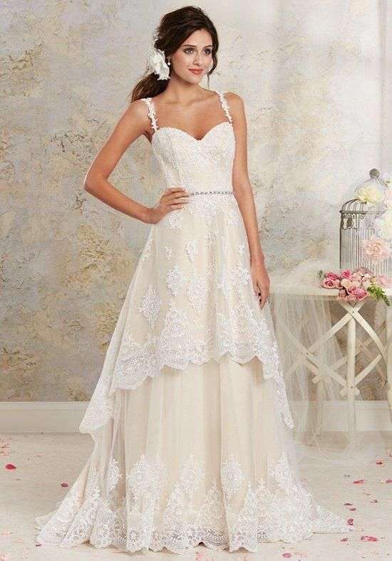 Modern Vintage by Alfred Angelo 8535 Wedding Dress - The Knot
