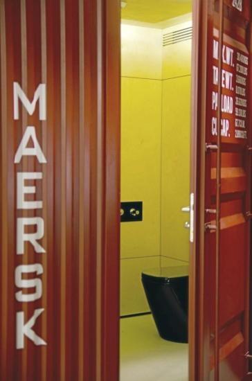 Container Bathroom!