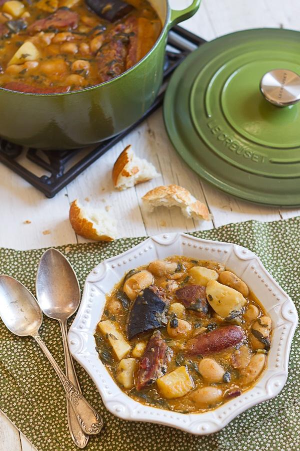 Pote Asturiano. Gastronomía española