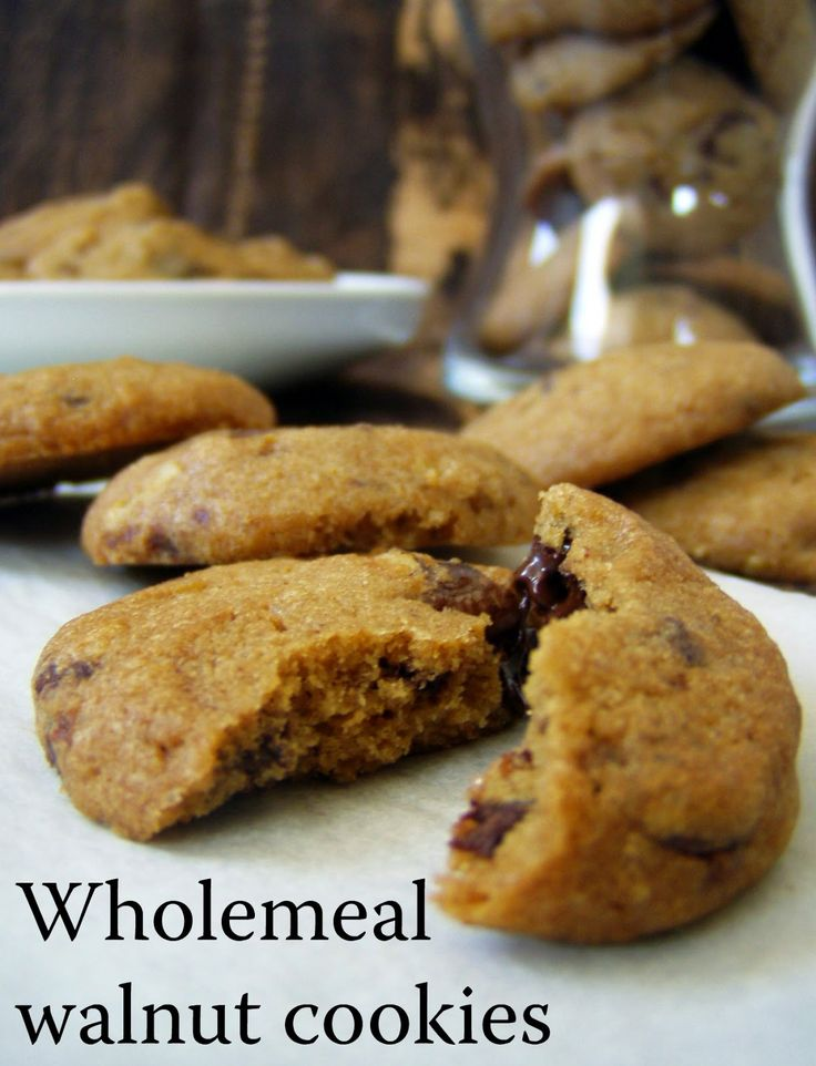 TynaTyna: Wholemeal walnut cookies