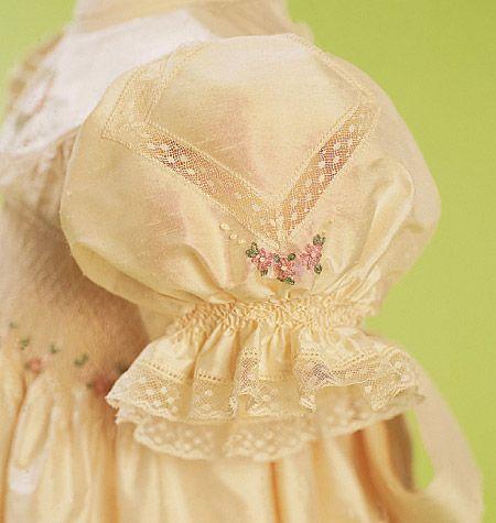 Heirloom lace sleeve