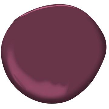 Dark Burgundy 2075-10  | Benjamin Moore  2017  Shadow palette complementary colours