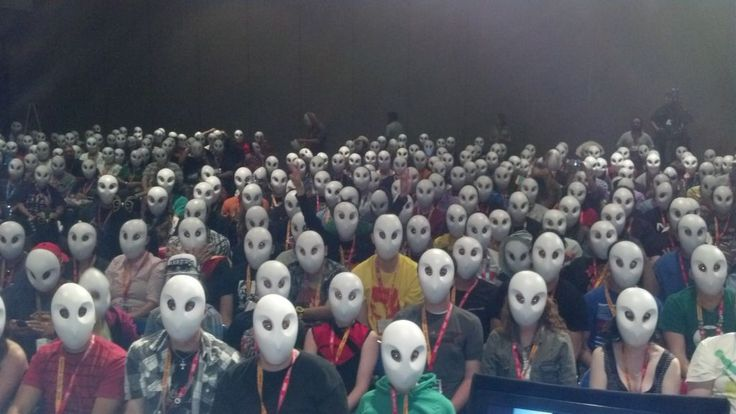 Court of the Owls masks from SDCC 2012 <3