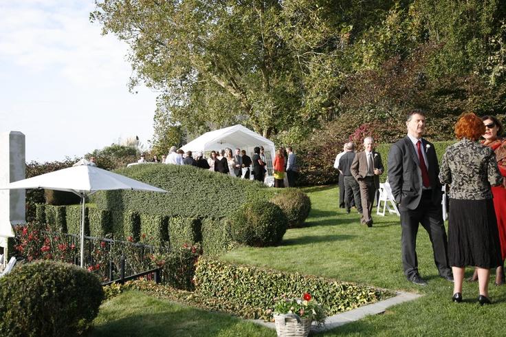 Wedding garden.