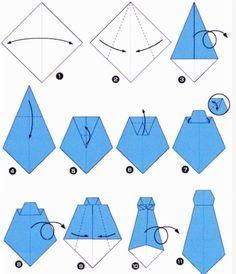 Lavoretti per la Festa del Papà: come realizzare facilmente una cravatta origami 3D di carta - Maestro Alberto