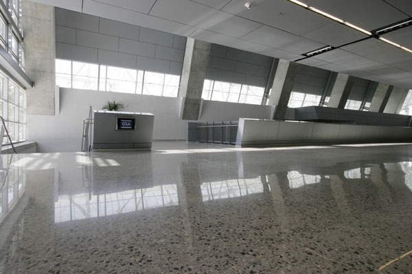 Government: Polished Concrete