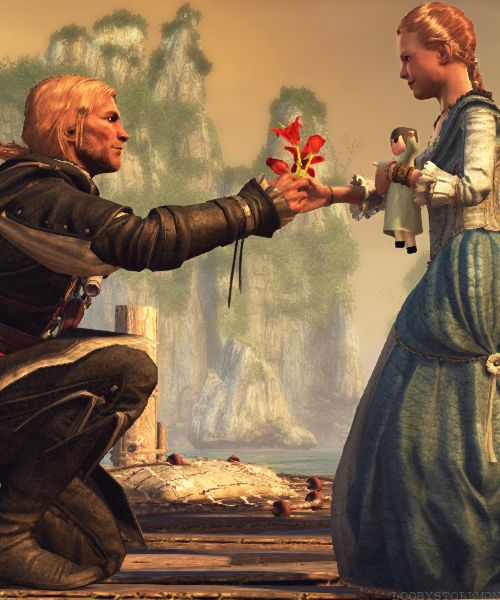 Edward and Jenny Scott Kenway. Assassin's Creed IV Black Flag. THE FEELS.