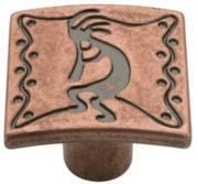 Southwestern Cabinet Knob Copper Kettle