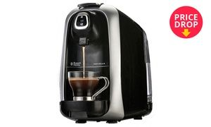The Novella capsule coffee maker makes the kitchen feel like a modern-day coffee shop, with all the lovely aromas