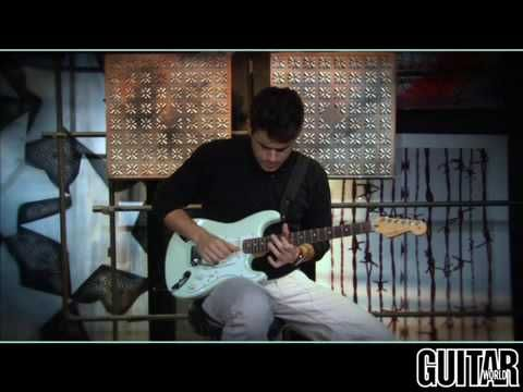 John Mayer Crossroads lesson (& hilarious dig at Les Pauls).