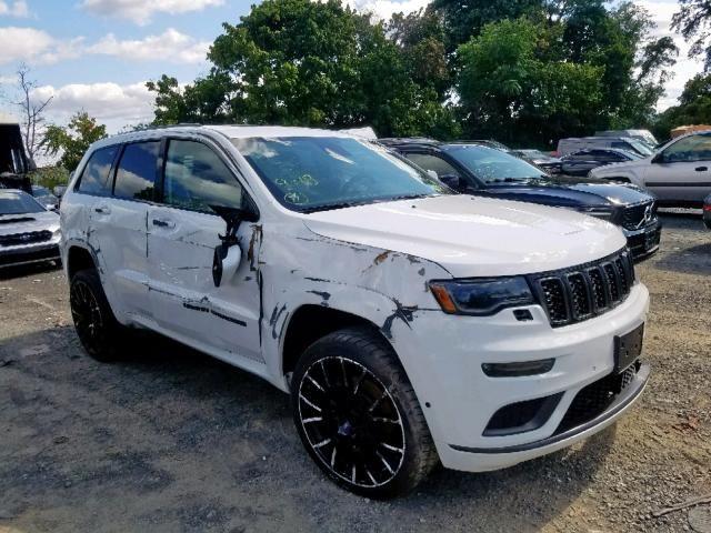 2018 Jeep Grand Cherokee Overland 18500 Grand Cherokee