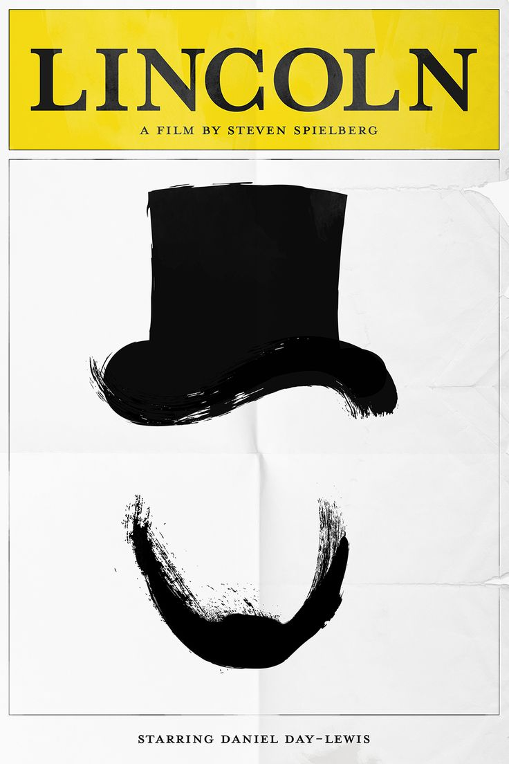 Oscar Pop! The 2013 Best Picture Nominees as Pop Art Posters: Lincoln meets Playbill.