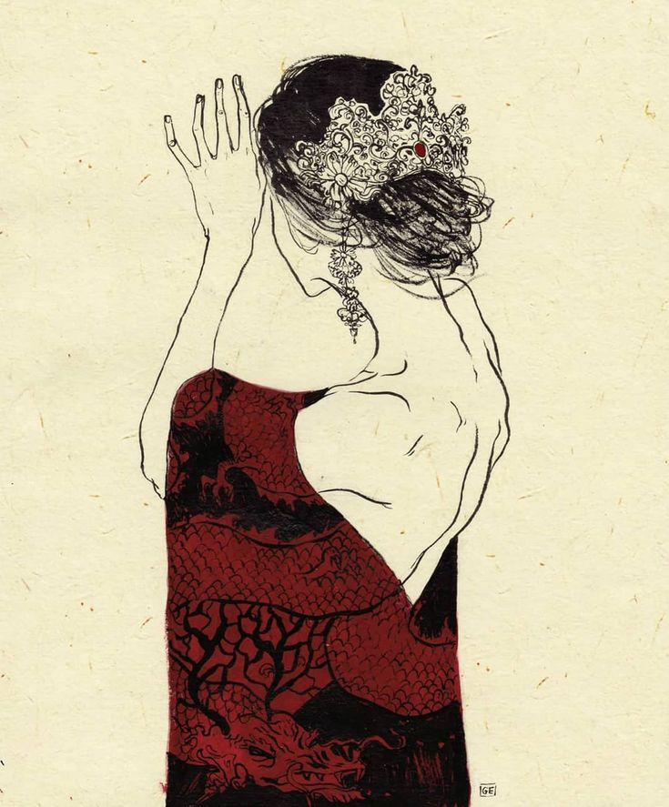 Giovanni Esposito #geisha #drawing #illustration