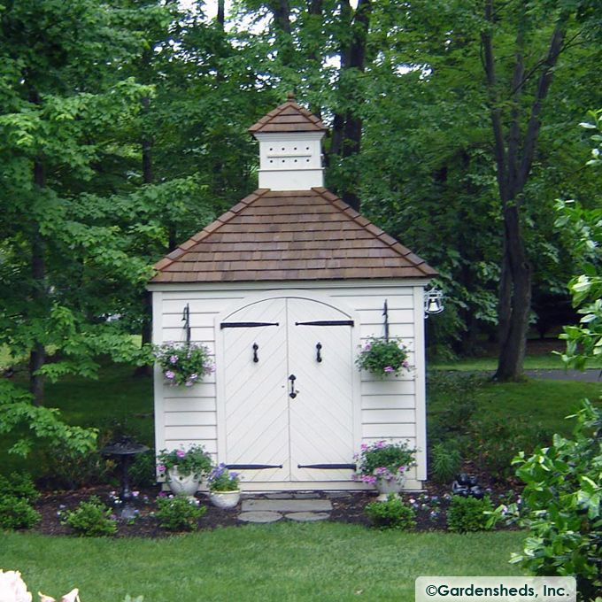 williamsburg classic garden shed a model