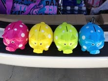 Polka Dot Piggy Banks: Piggy Bank, Color, Piggybank