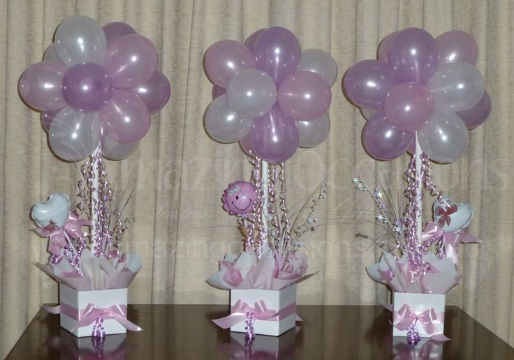 baby shower balloons baby shower balloon topiary tree table