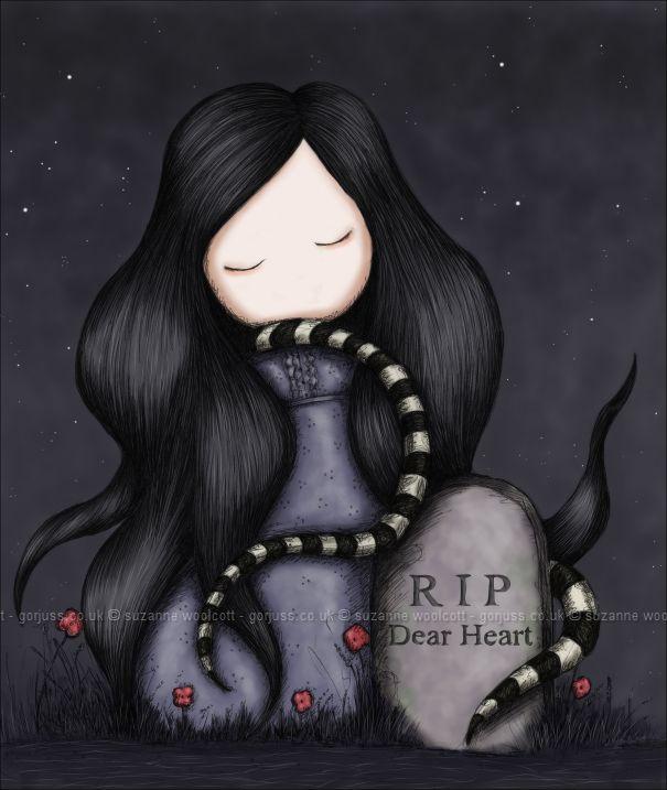 RIP Dear Heart by `gorjuss on deviantART