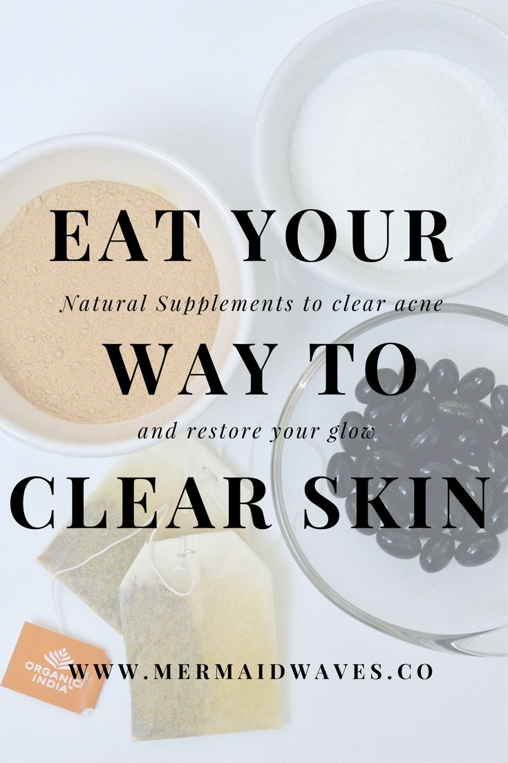how to clear up skin naturally