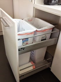 31 best ikea kitchen installation tips tricks images on pinterest ikea kitchen - Ikea pull out trash bin ...