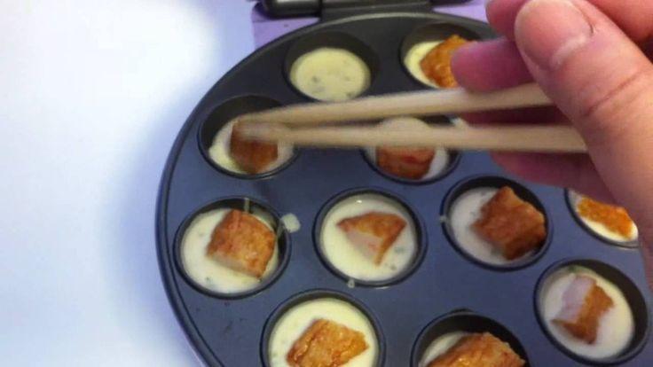 Cake Pops Using Takoyaki