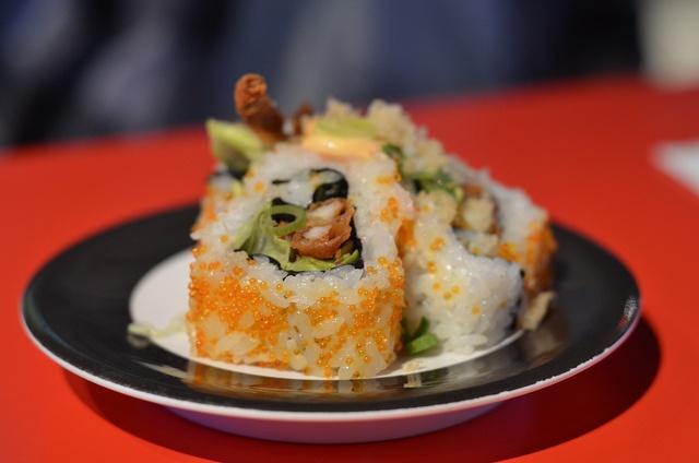 Soft-shell Crab Sushi