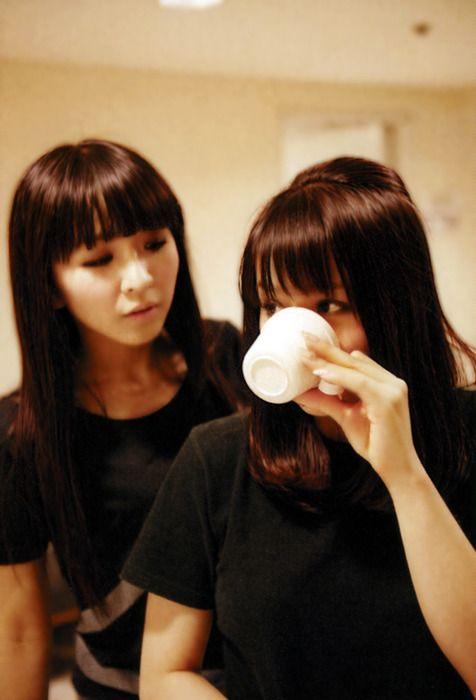 Kashiyuka and A-chan