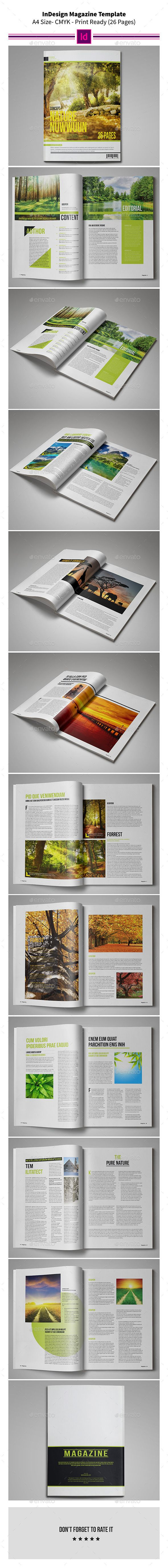 Nature MagazineTemplate 26 Pages