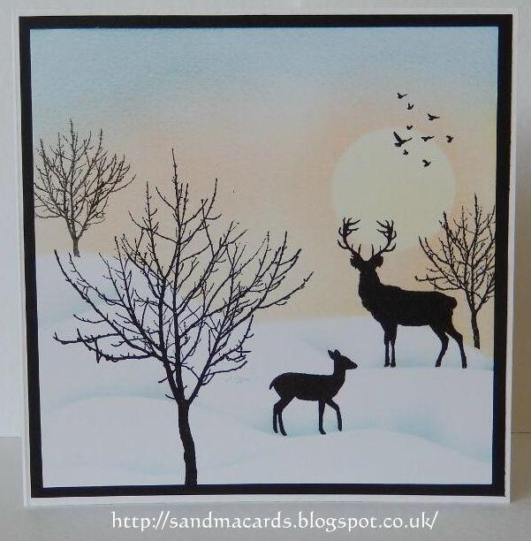 http://sandmacards.blogspot.co.uk/ Bare Trees