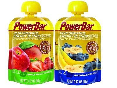 12 x PowerBar Energy Blend Gels 90g Various Flavours Clearance Short Date Gels
