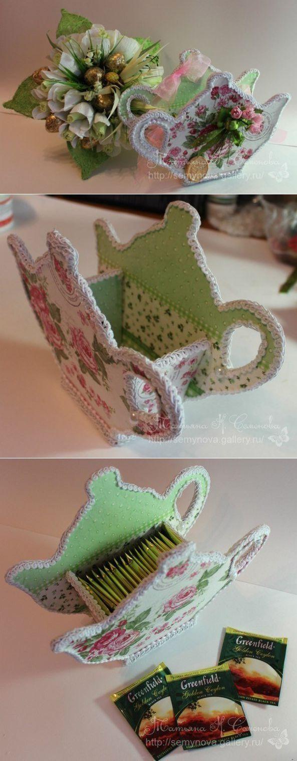 Чайник для чайных пакетиков .
