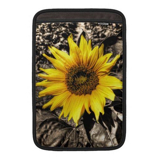 Sunflower MacBook Sleeves