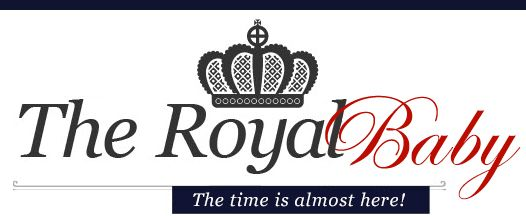 Royal Baby...you can txt to be the FIRST to know when the royal baby is has arrived! Can't wait!