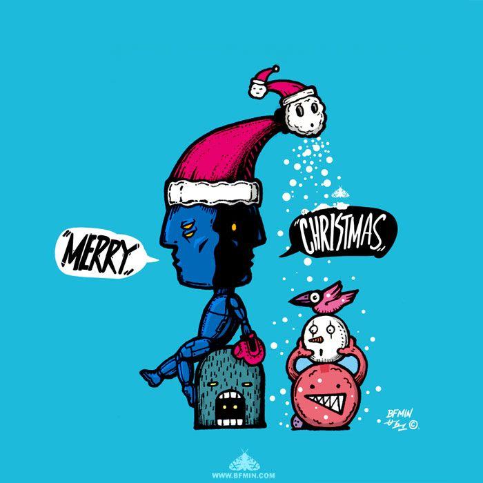 MERRY CHRISTMAS. artist : BFMIN[범민]