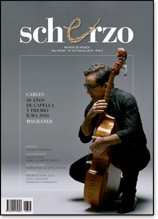 SCHERZO nº 337 (febreiro 2018)