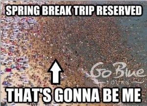 Spring Break Beach - Go Blue Tours