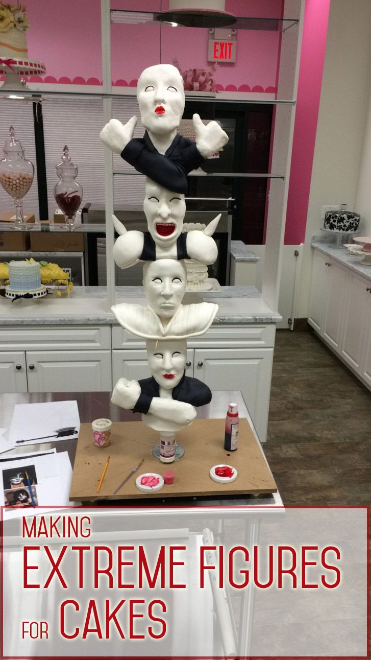 Cake Decorating Sculpting Figures : 32 best Cake, Cupcake and Cookie Decorating Tutorials ...