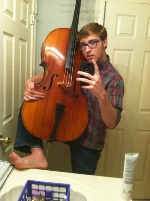 Dealing with dramatic teenage cellists. | 25 Problems Only People Who Have Played In A School Orchestra Will Understand