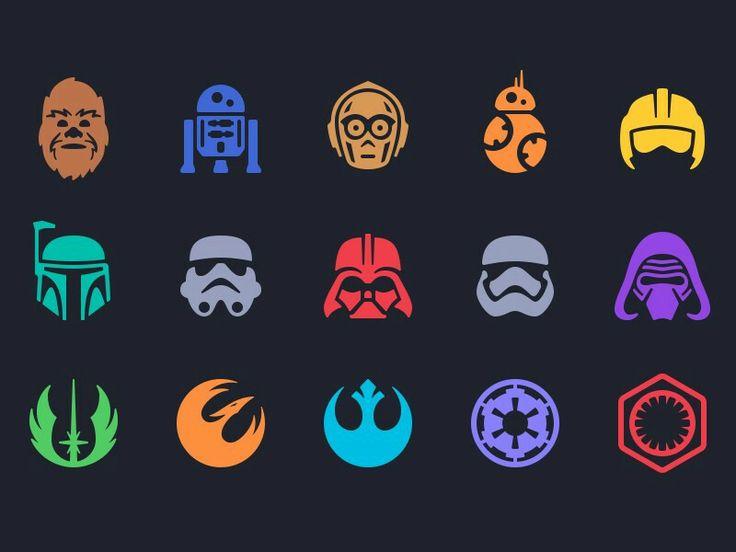 Star Wars Characters & Symbols                                                                                                                                                                                 More