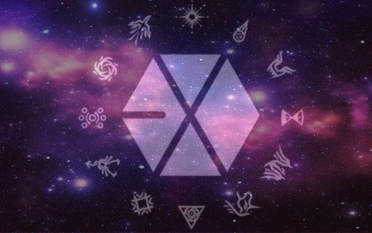 exo galaxy wallpaper |...