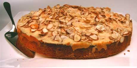 Anna Olson's Ricotta Almond Cake