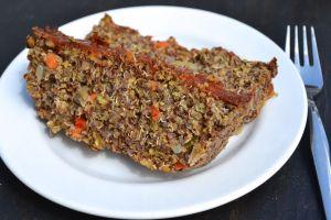 Vegetable Lentil Loaf