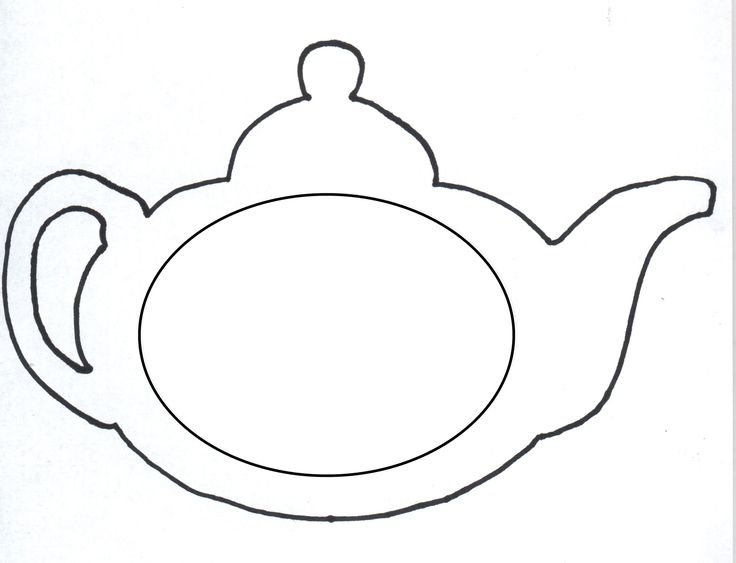 paper teapot template google search 123 must make pinterest coloring pages sewing. Black Bedroom Furniture Sets. Home Design Ideas