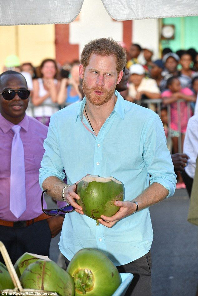 Prince Harry, 32, touched down in St. Lucia where he took part in a cricket match, and later enjoyed the local food and drink as part of his Caribbean tour.