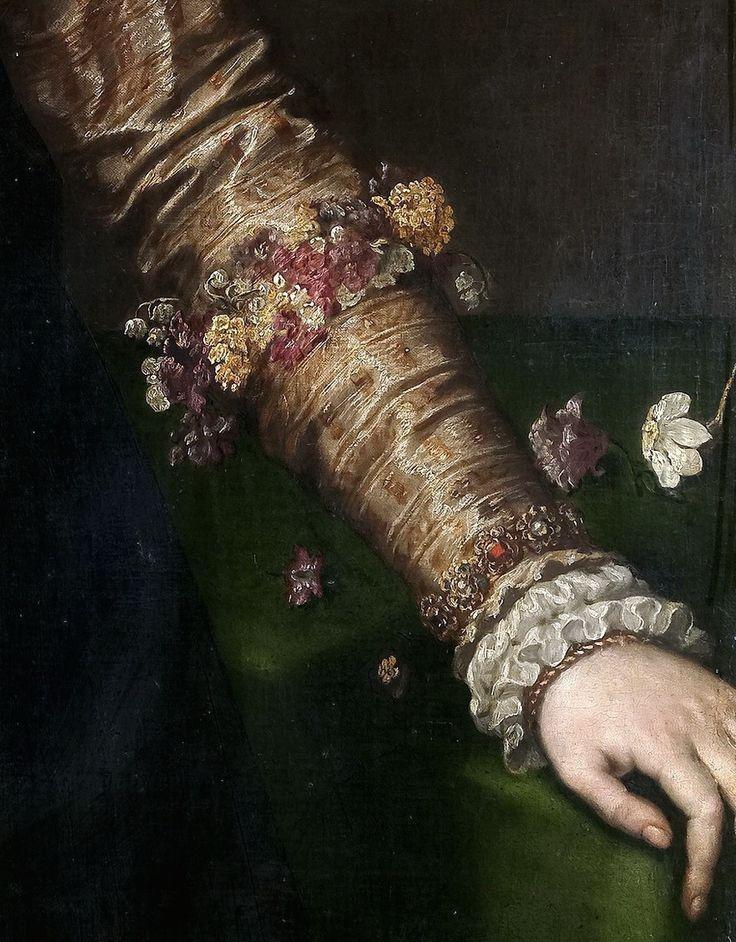 La duquesa de Feria (?), by Antonio Moro (aka. Anthonis Mor, and Anthonis Mor van Dashorst) (Dutch, 1517-1577)