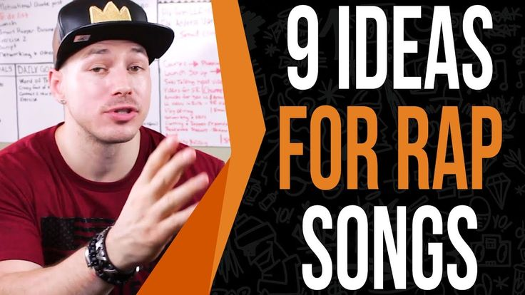 how to write your own rap songs