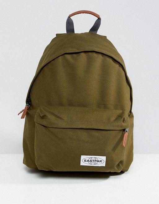 Backpacks Asos Men 24l Pak'r Padded Backpack In Eastpak Green avPTwa