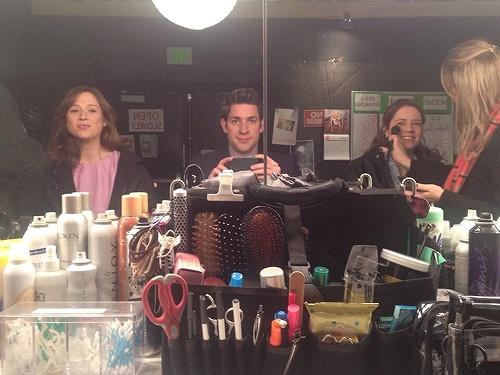 The Office: John Krasinski, Jenna Fischer, and Ellie Kemper