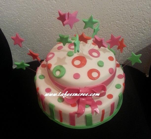 Cake birthday  gâteau d'anniversaire